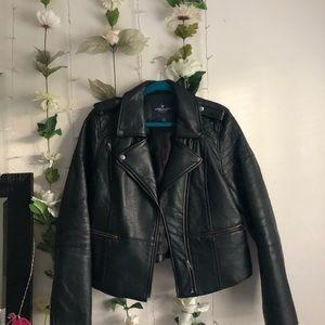 American Eagle | Vegan Leather Jacket